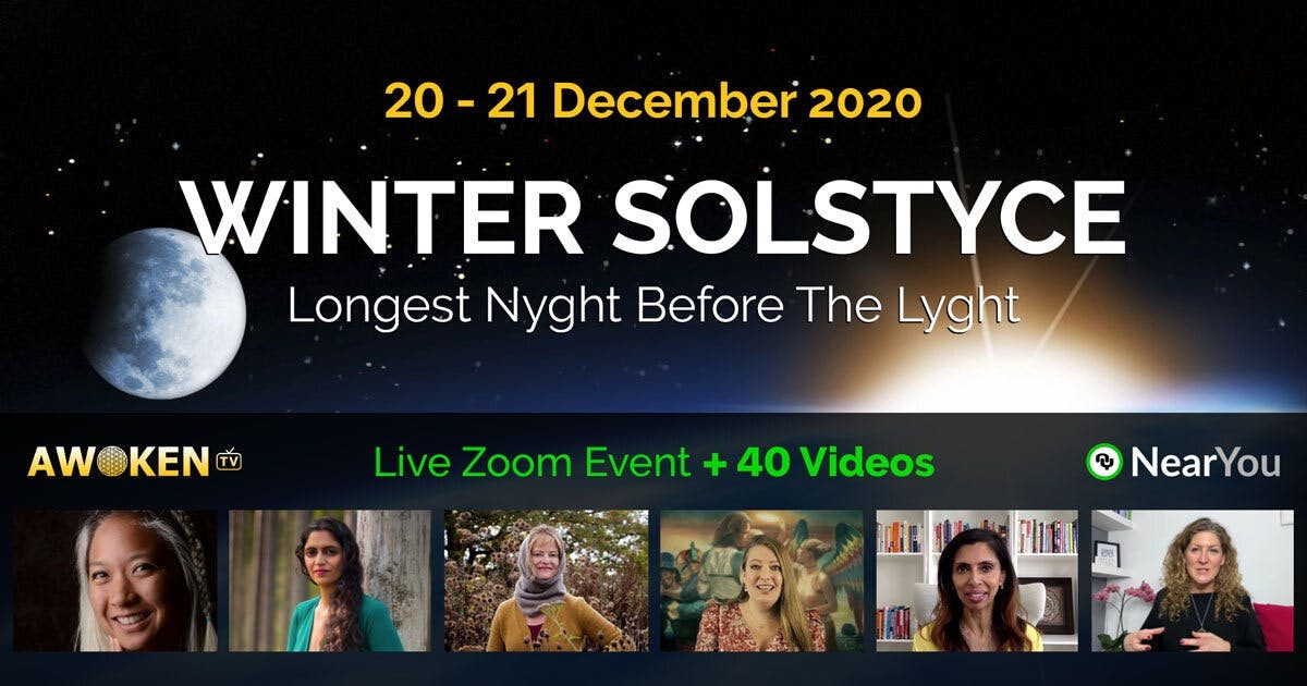 Multimedia yoga celebration of the Winter Solstice on the 20th December 2020