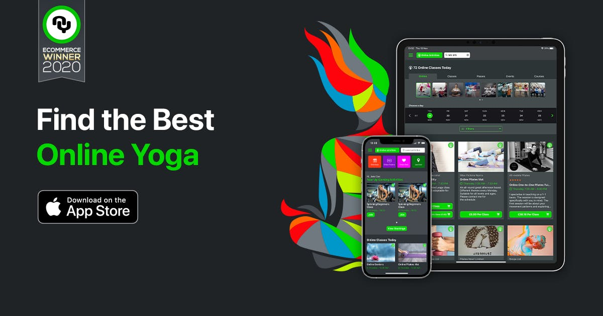 New NearYou APP is great for finding yoga classes and the best yoga teachers.