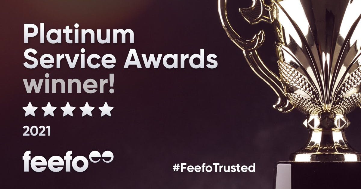 Pilates Near You receives Feefo Platinum Trusted Service Award 2021